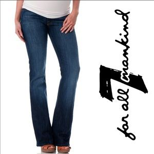 7 for all mankind maternity jeans Pea in a Pod